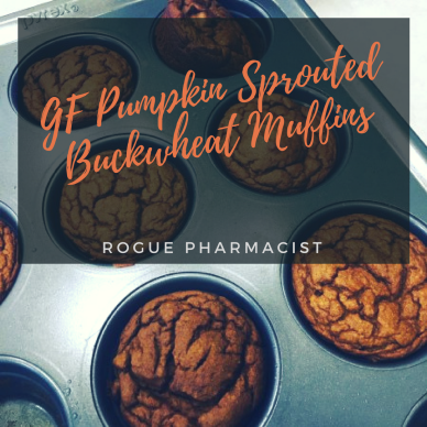 GF Pumpkin Sprouted Buckwheat Muffins
